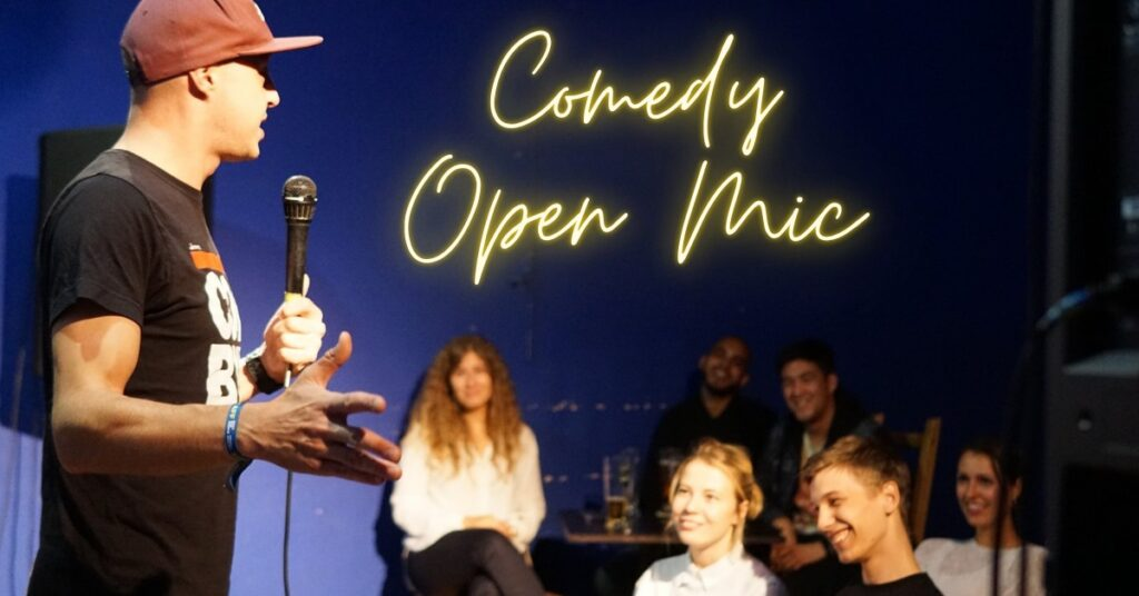 Monday Open Mic promo picture